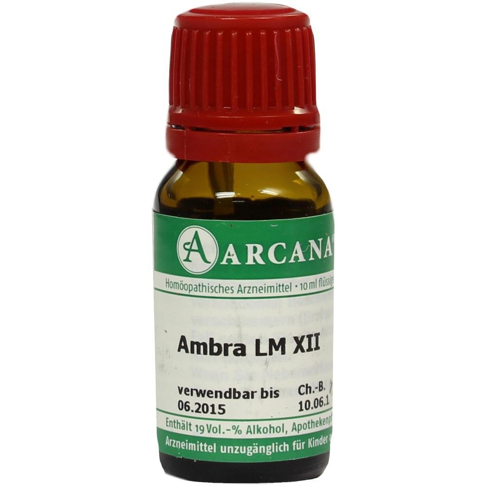 02600431, AMBRA ARCA LM 12, 10 ML
