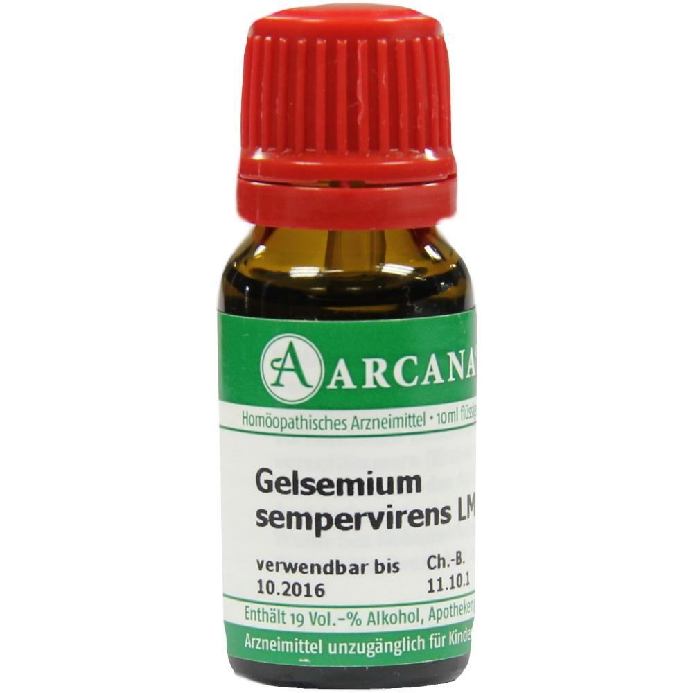 02602097, GELSEMIUM SEMPER ARC LM 18, 10 ML