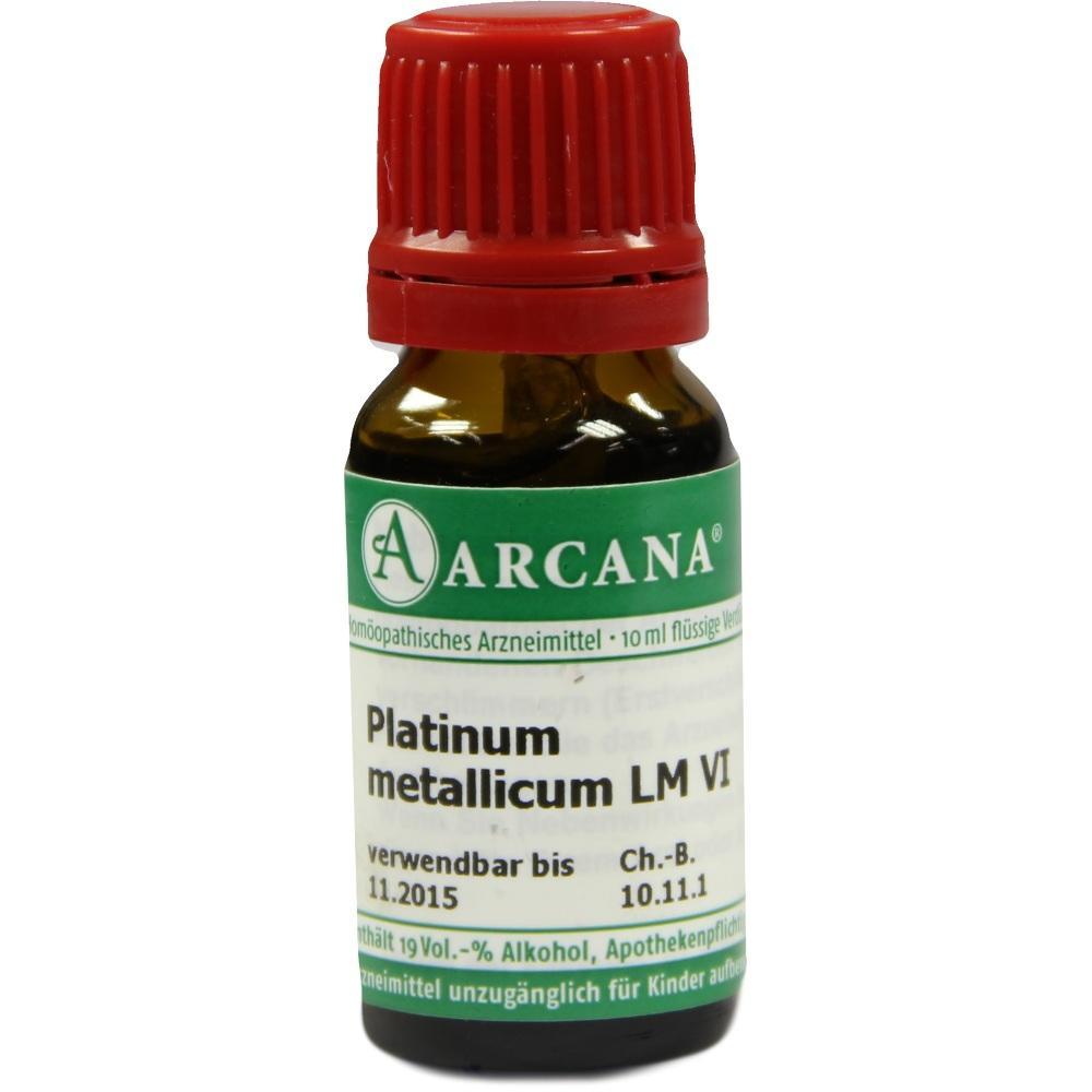 02603317, PLATINUM MET. ARCA LM 6, 10 ML