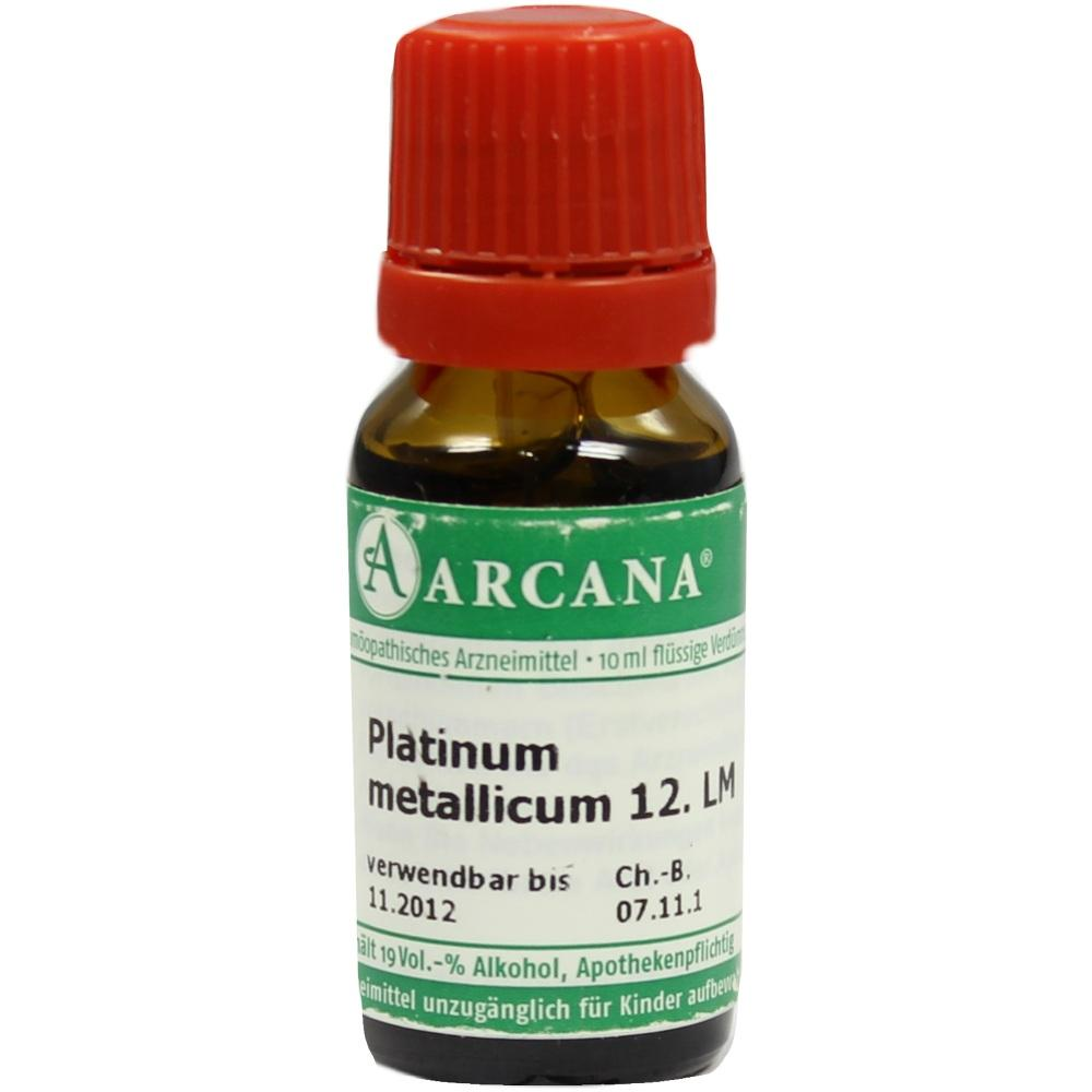 02603323, PLATINUM MET. ARCA LM 12, 10 ML