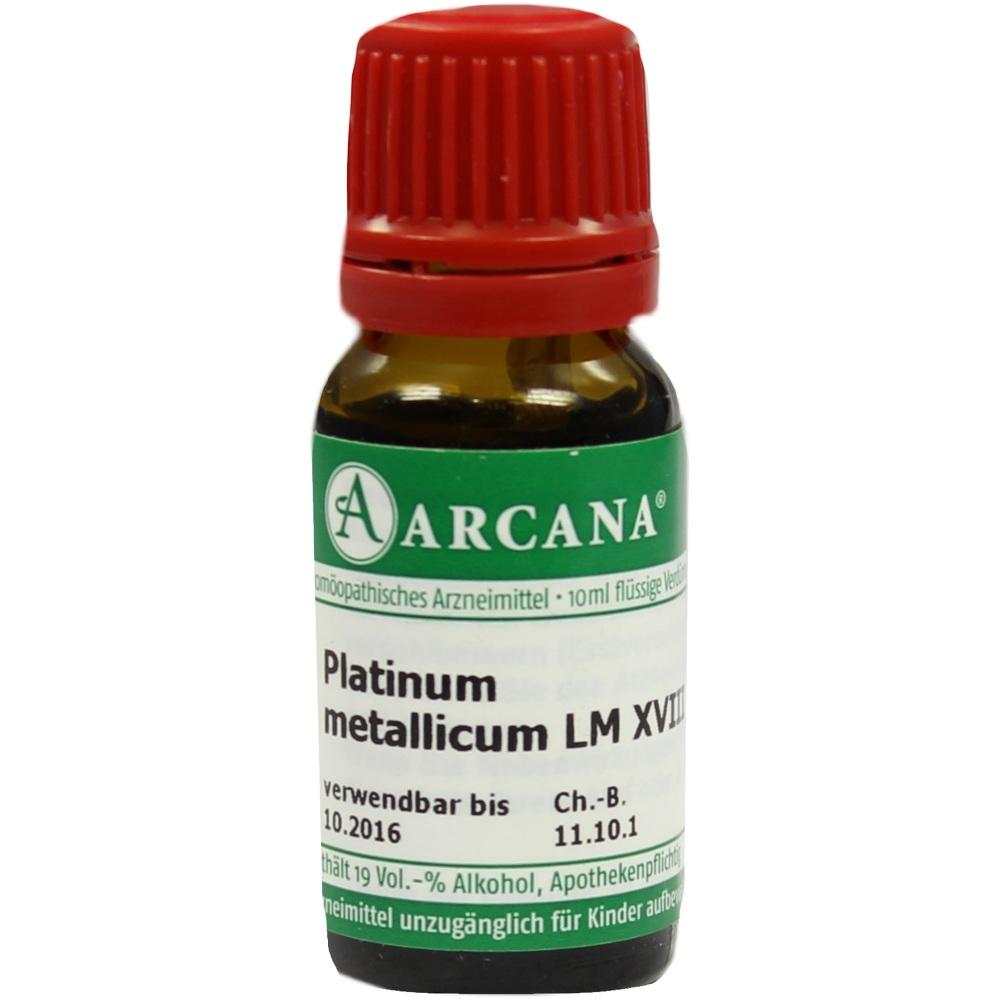 02603346, PLATINUM MET. ARCA LM 18, 10 ML