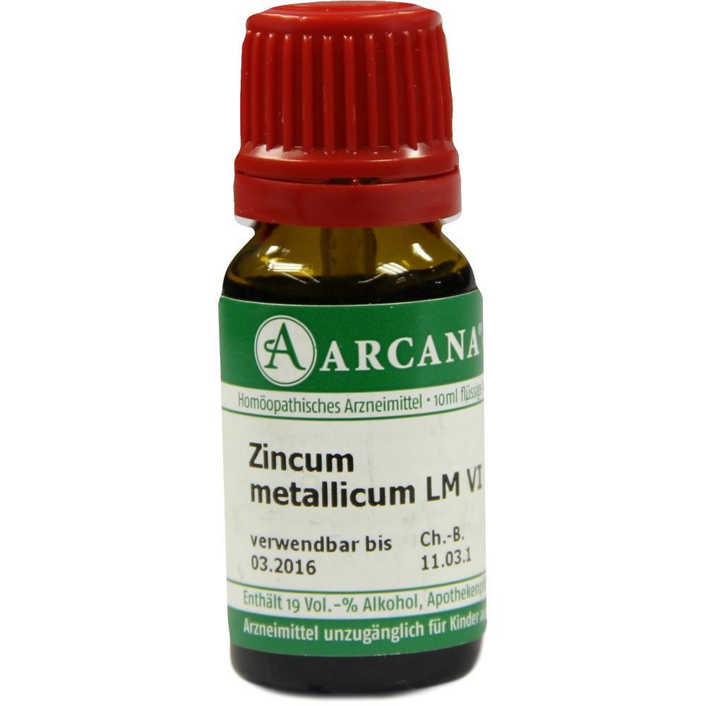 02604280, ZINCUM MET. ARCA LM 6, 10 ML
