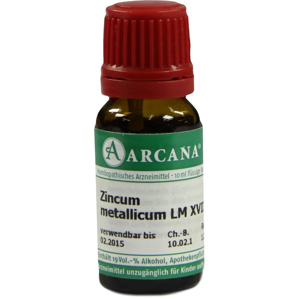 ZINCUM METALLICUM LM 18 Dilution