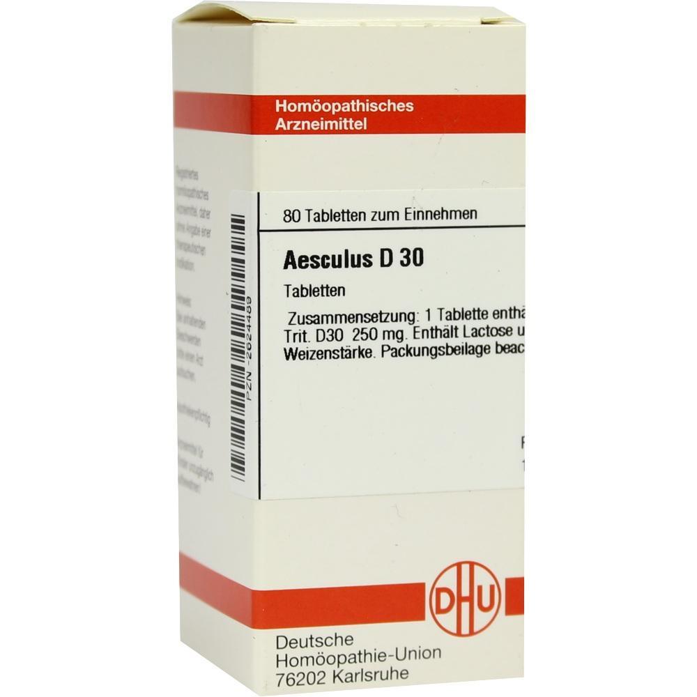 AESCULUS D 30 Tabletten