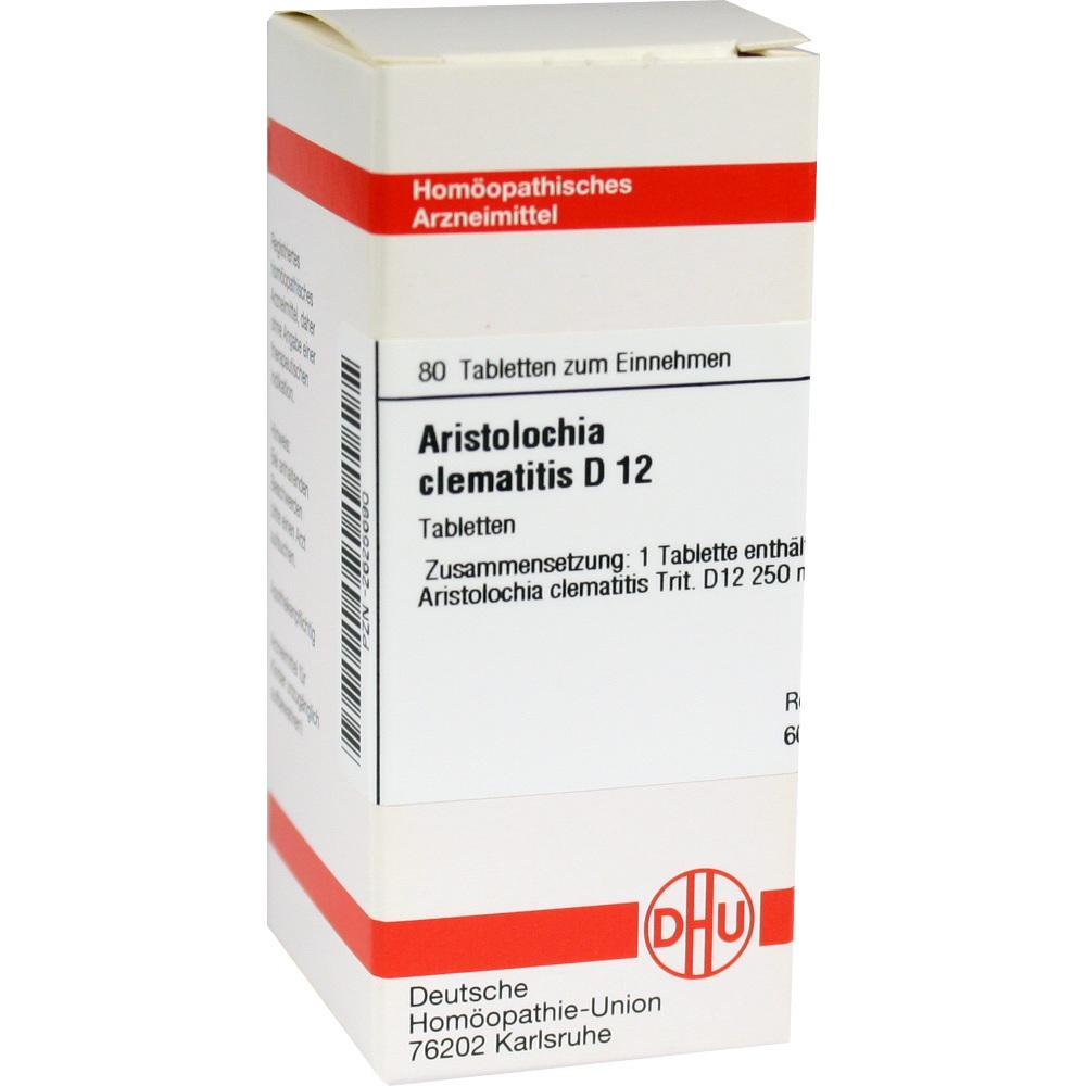 ARISTOLOCHIA CLEMATITIS D 12 Tabletten