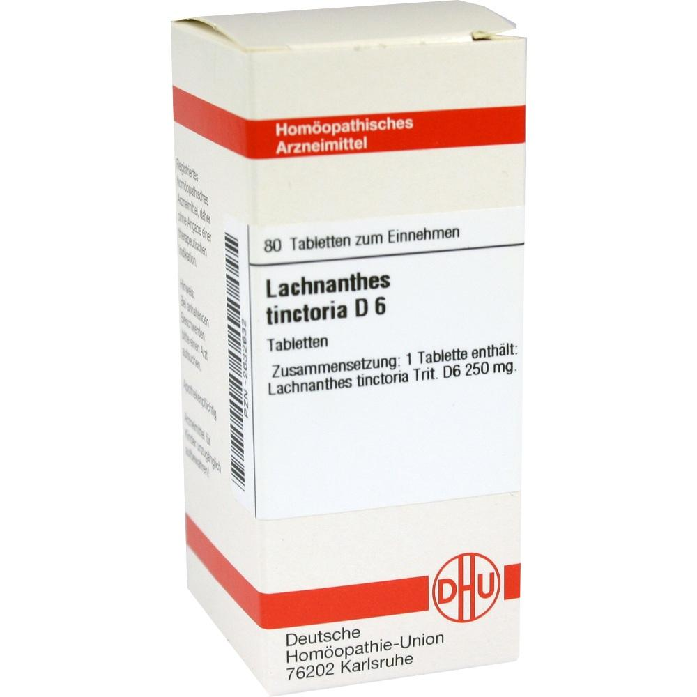 LACHNANTHES tinctoria D 6 Tabletten