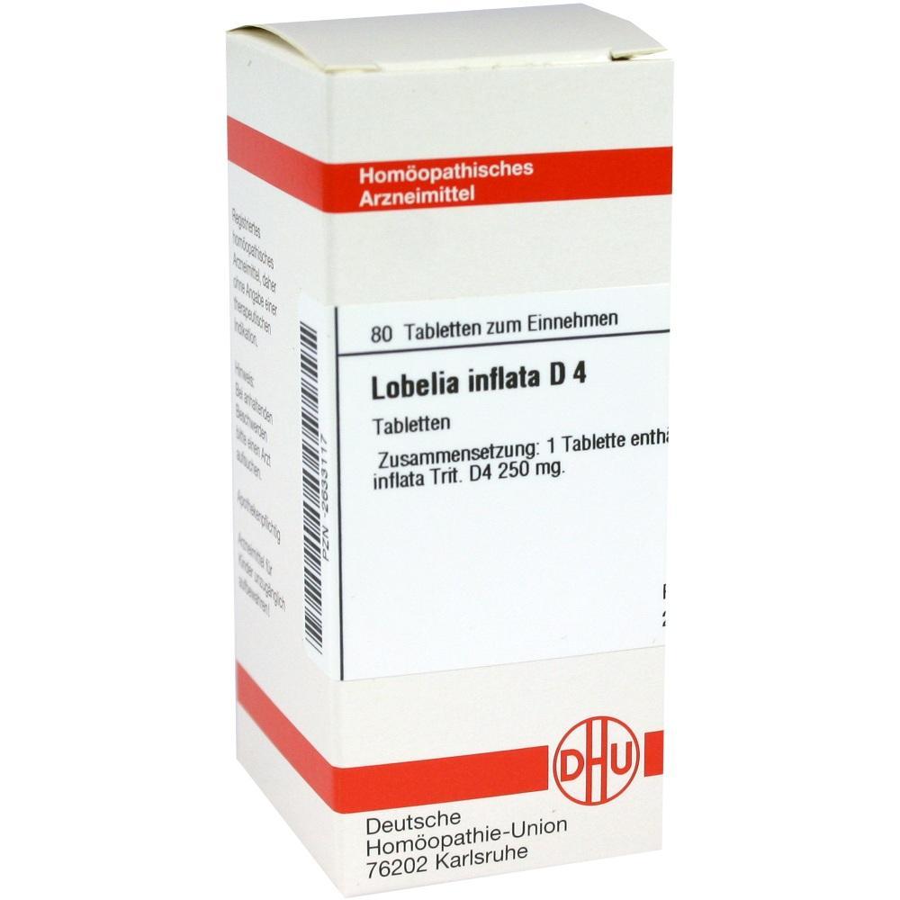 LOBELIA INFLATA D 4 Tabletten