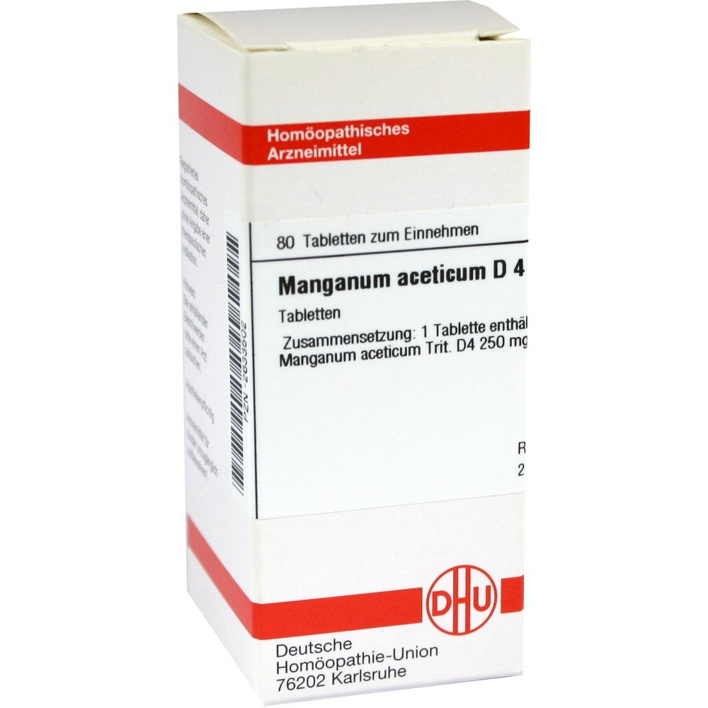 MANGANUM ACETICUM D 4 Tabletten