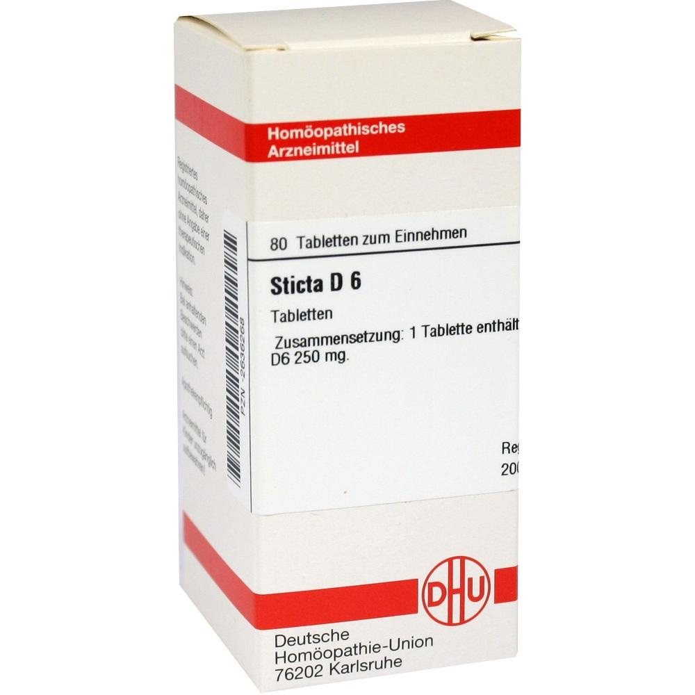 STICTA D 6 Tabletten