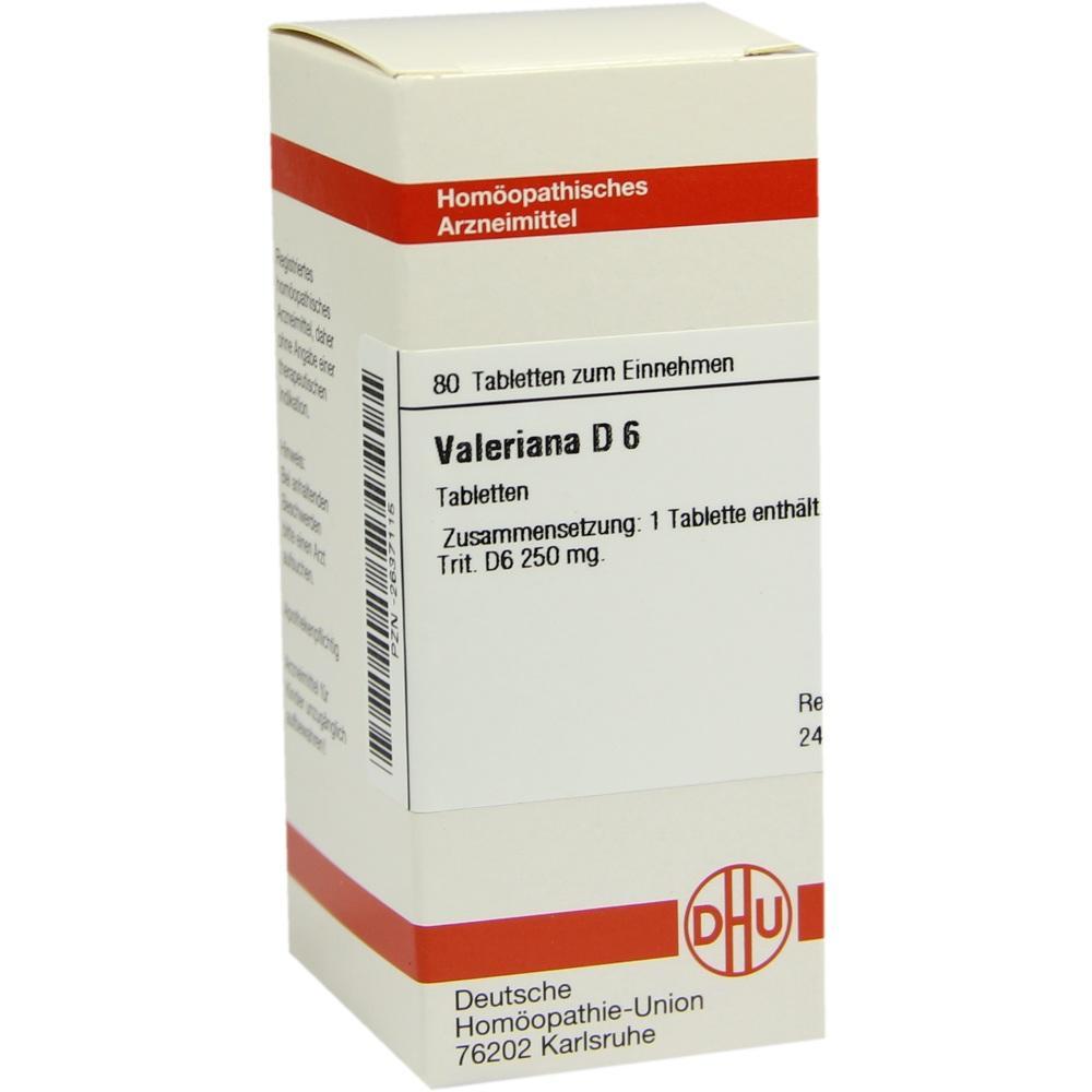 VALERIANA D 6 Tabletten