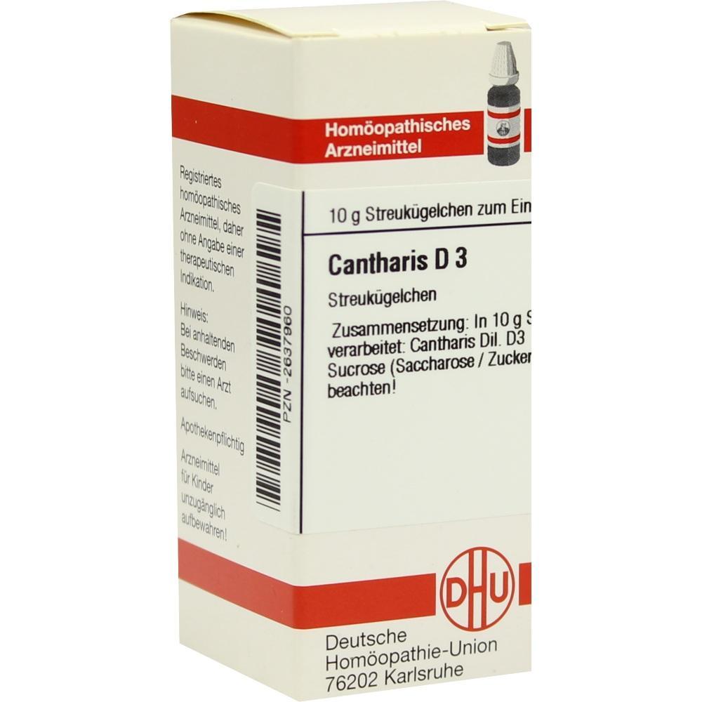 CANTHARIS D 3 Globuli