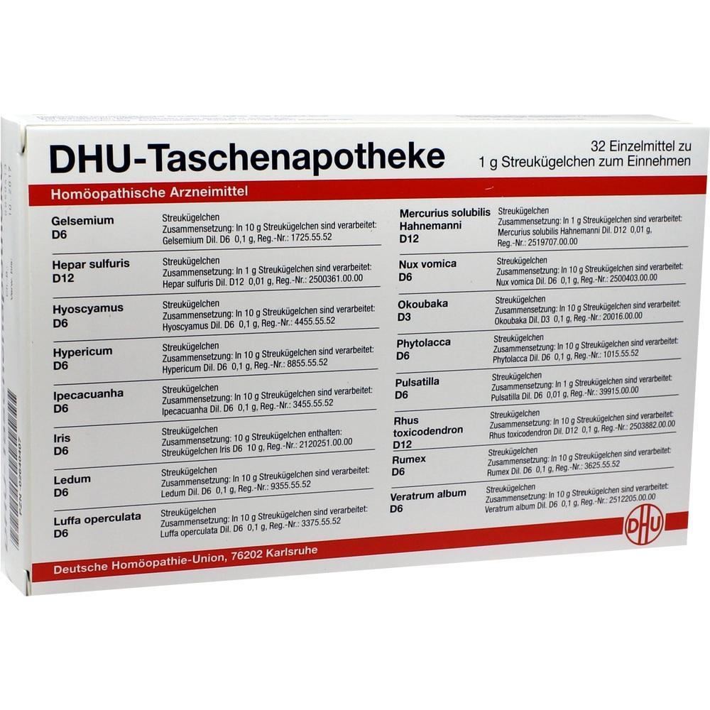 02640407, DHU-Taschenapotheke, 32X1 G
