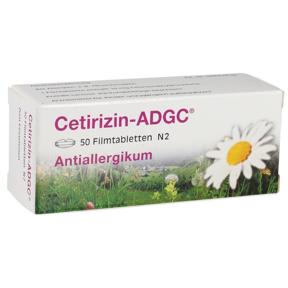 02662780, Cetirizin-ADGC, 50 ST