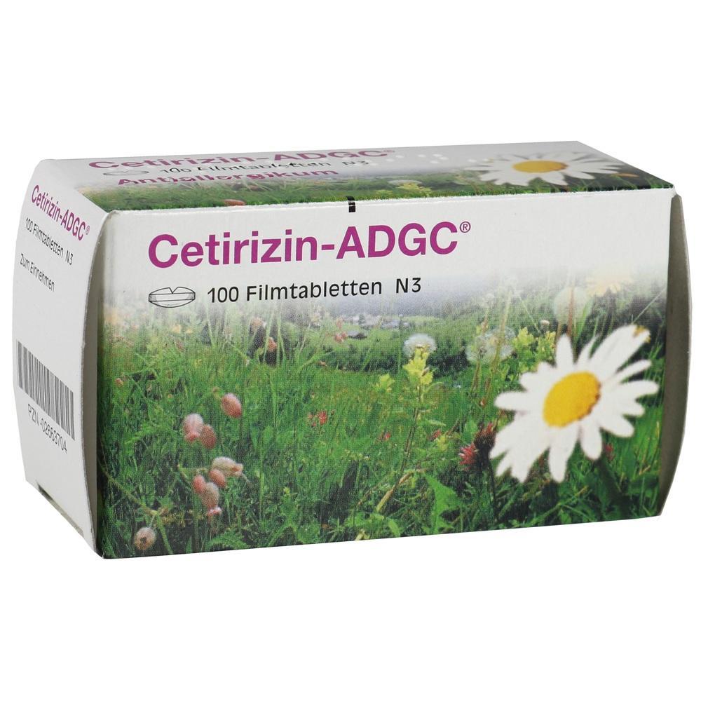 02663704, Cetirizin-ADGC, 100 ST