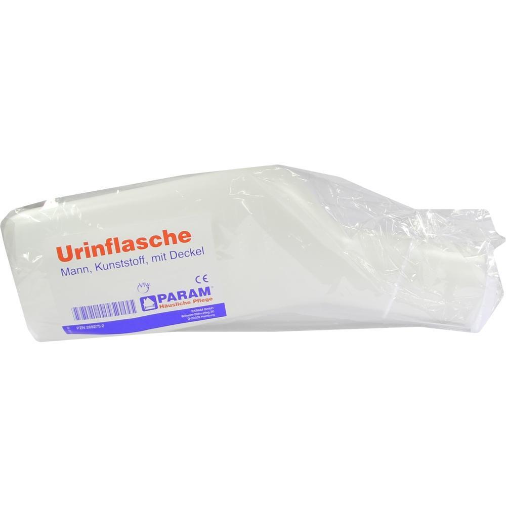 URINFLASCHE f.Männer Kunststoff m.Deckel