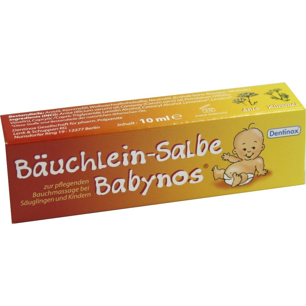 02699286, Bäuchlein-Salbe Babynos, 10 ML