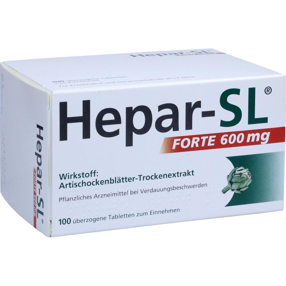 02708944, Hepar-SL Forte 600mg, 100 ST