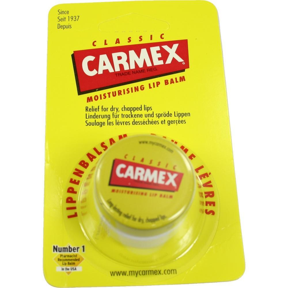 02710585, Carmex Lippenbalsam f. trockene spröde Lippen, 7.5 G