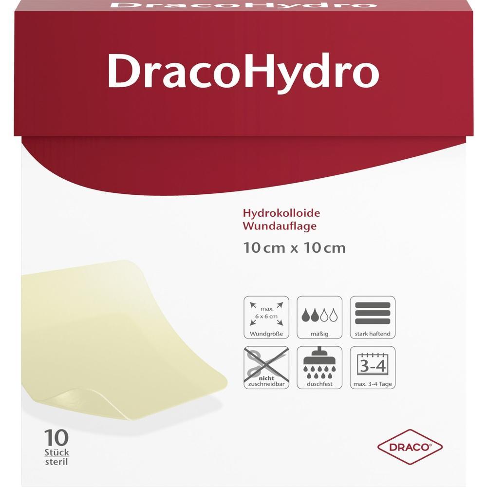 02745402, DracoHydro Hydrokoll. Wundauflage 10x10cm, 10 ST
