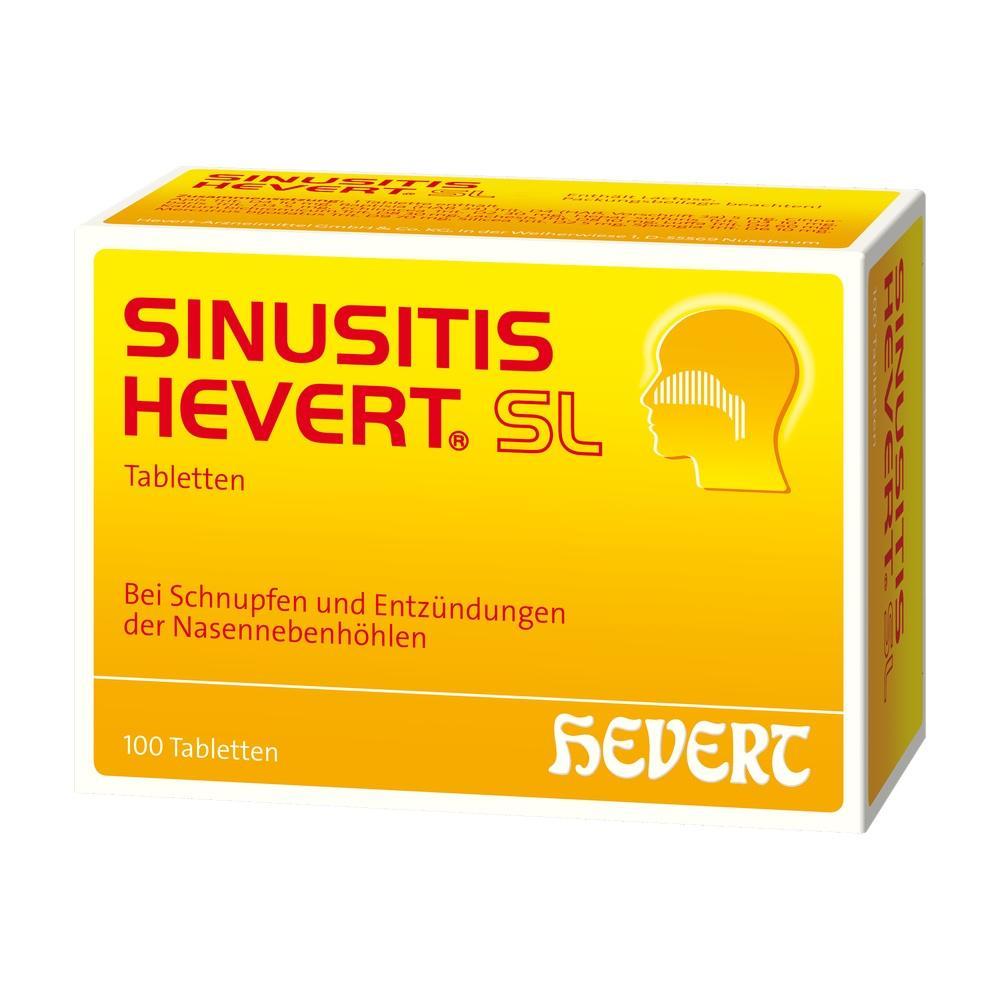 02785005, Sinusitis Hevert SL, 100 ST
