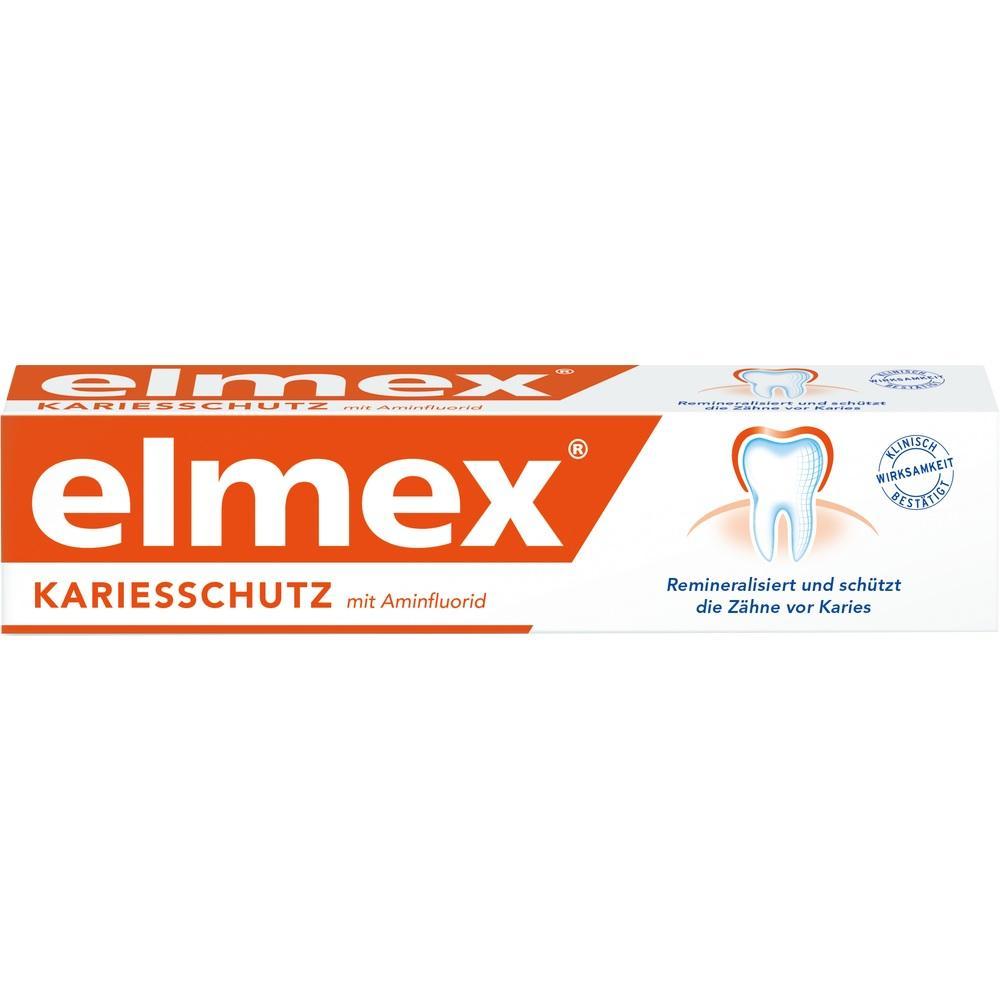 02791046, elmex Zahnpasta mit Faltschachtel, 75 ML