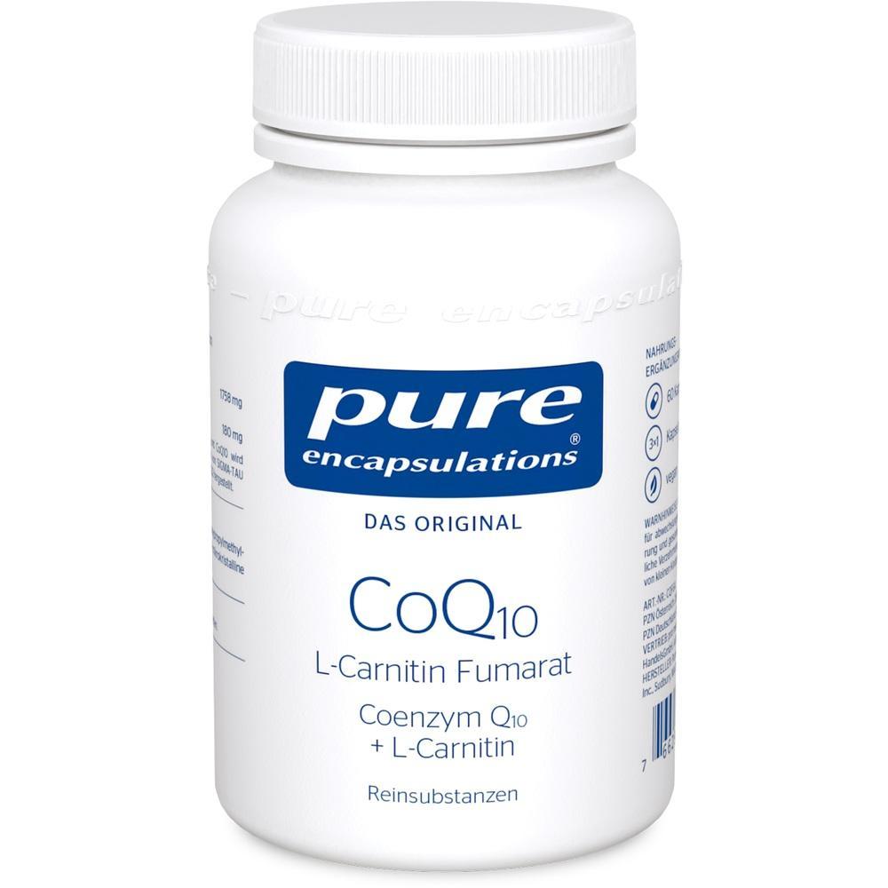 02796440, PURE ENCAPSULATIONS COQ10 L-CARNITIN FUMARAT, 60 ST
