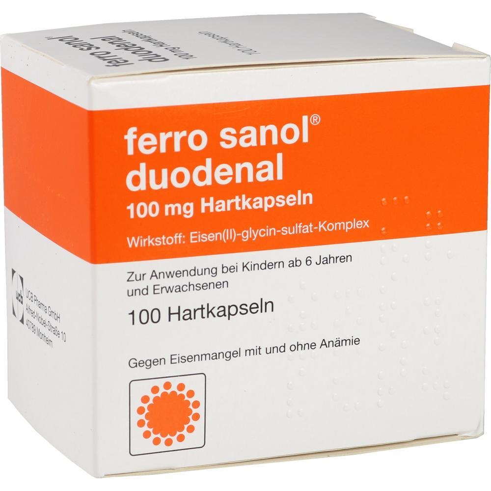02799421, FERRO SANOL DUODENAL magens.res.Pellets in Kapseln, 100 ST