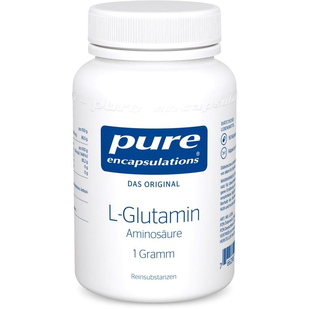 02799680, Pure Encapsulations L-Glutamin 1 Gramm, 90 ST