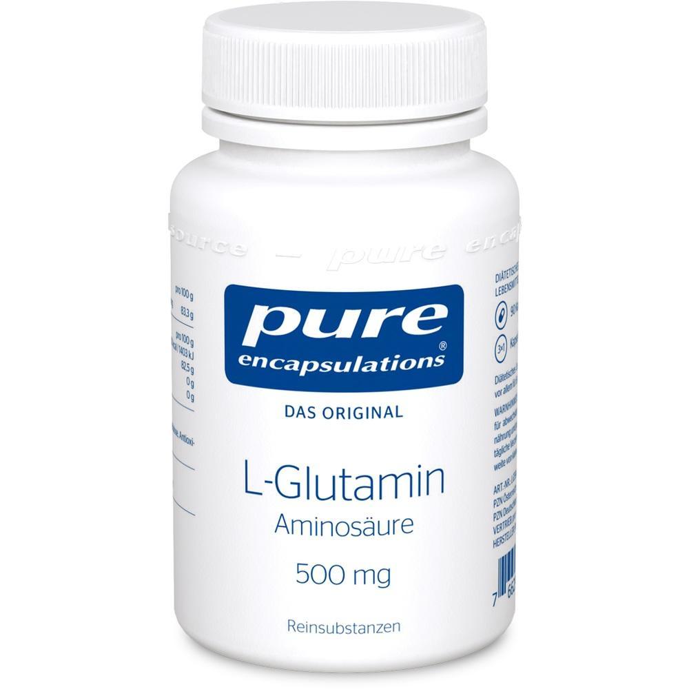 02799711, Pure Encapsulations L-Glutamin 500 mg, 90 ST