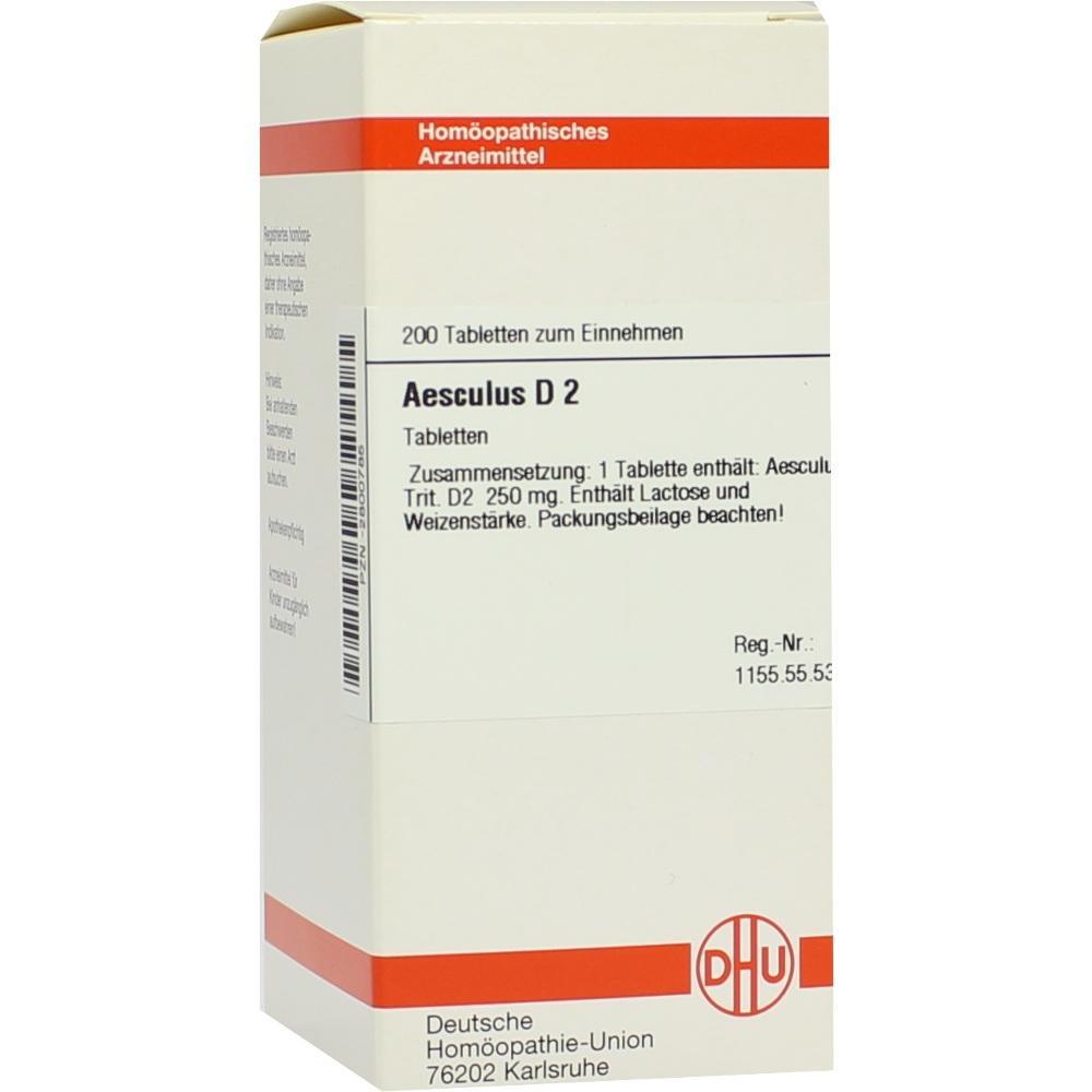 AESCULUS D 2 Tabletten