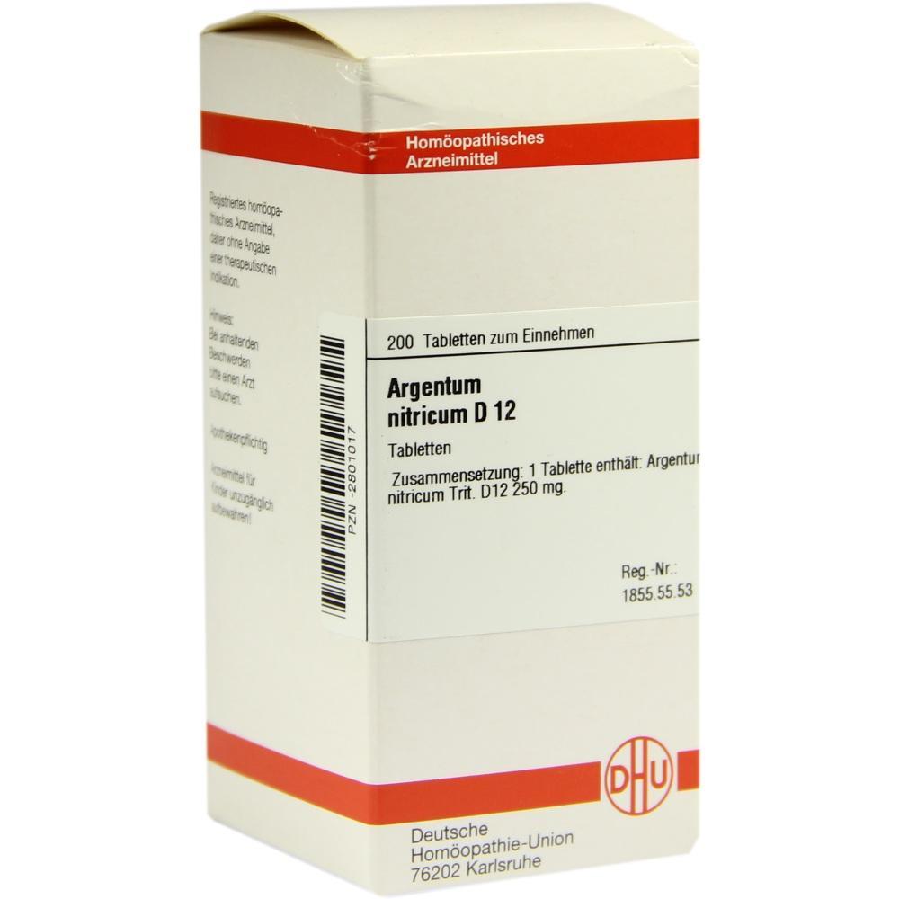 ARGENTUM NITRICUM D 12 Tabletten