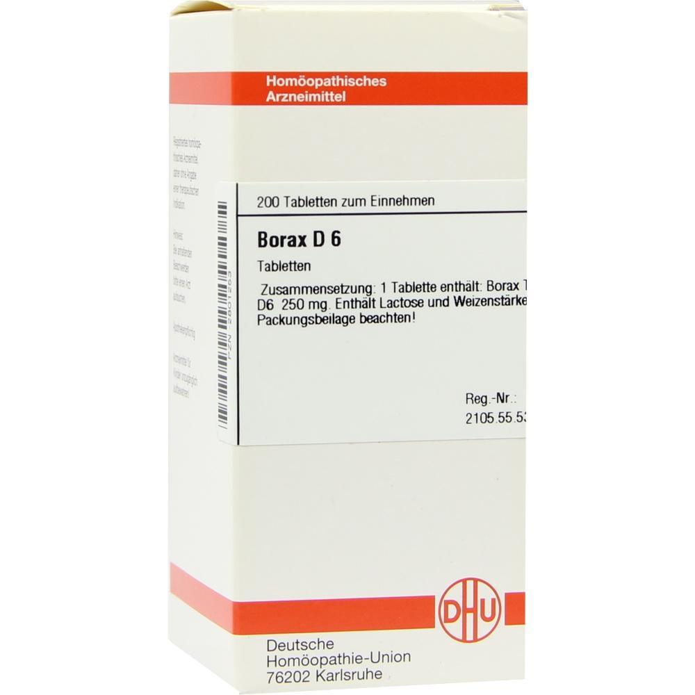 BORAX D 6 Tabletten