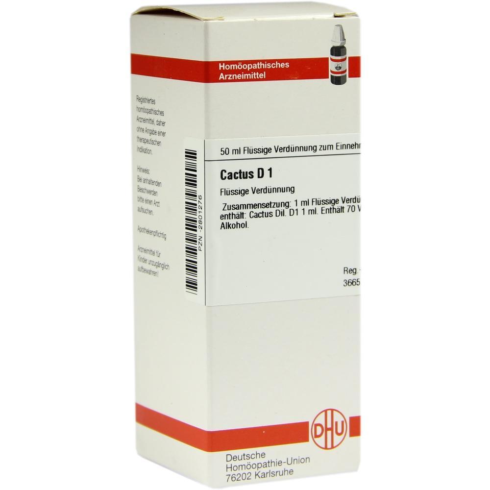 CACTUS D 1 Dilution