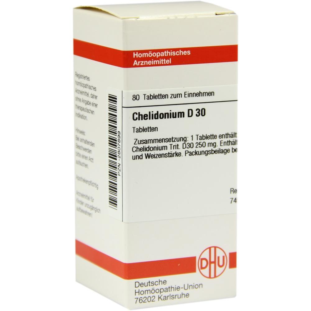 CHELIDONIUM D 30 Tabletten