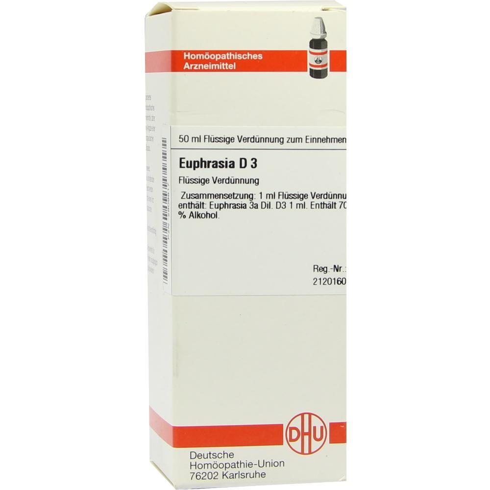 EUPHRASIA D 3 Dilution