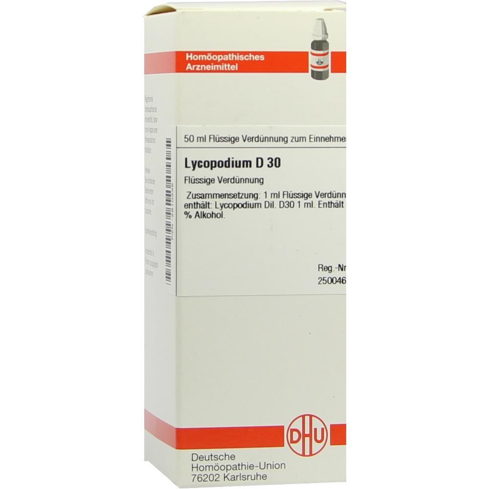 LYCOPODIUM D 30 Dilution