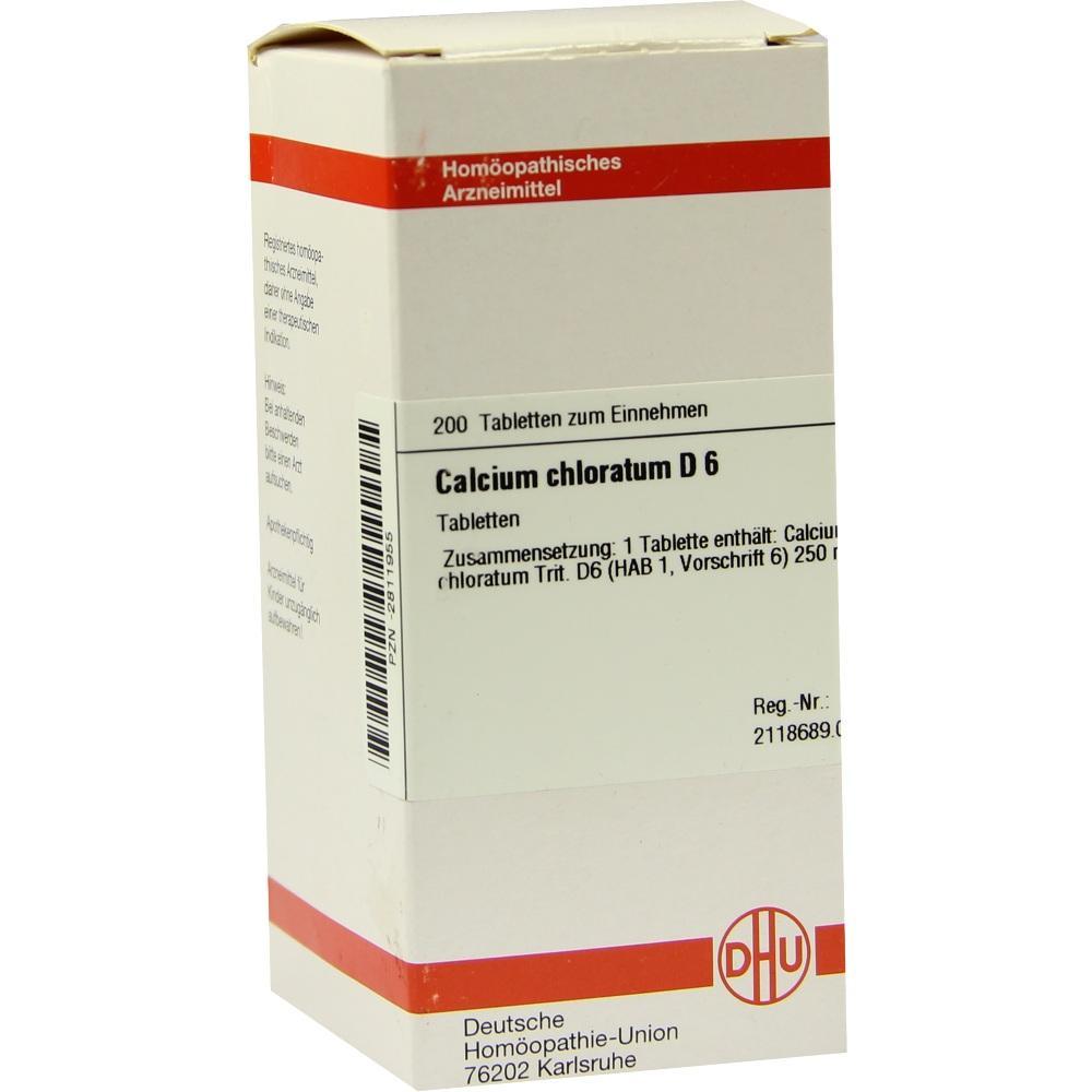 CALCIUM CHLORATUM D 6 Tabletten