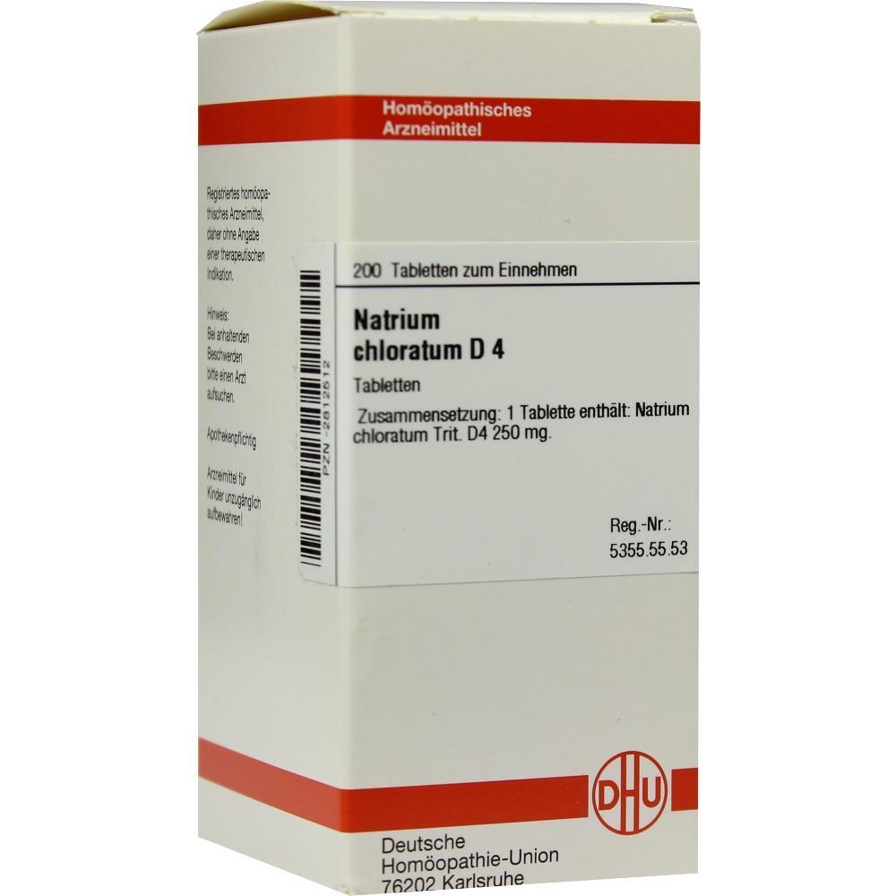 NATRIUM CHLORATUM D 4 Tabletten