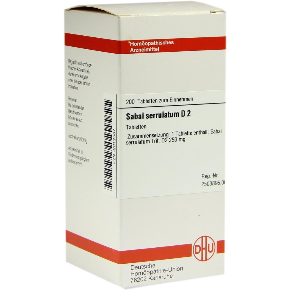 SABAL SERRULATUM D 2 Tabletten