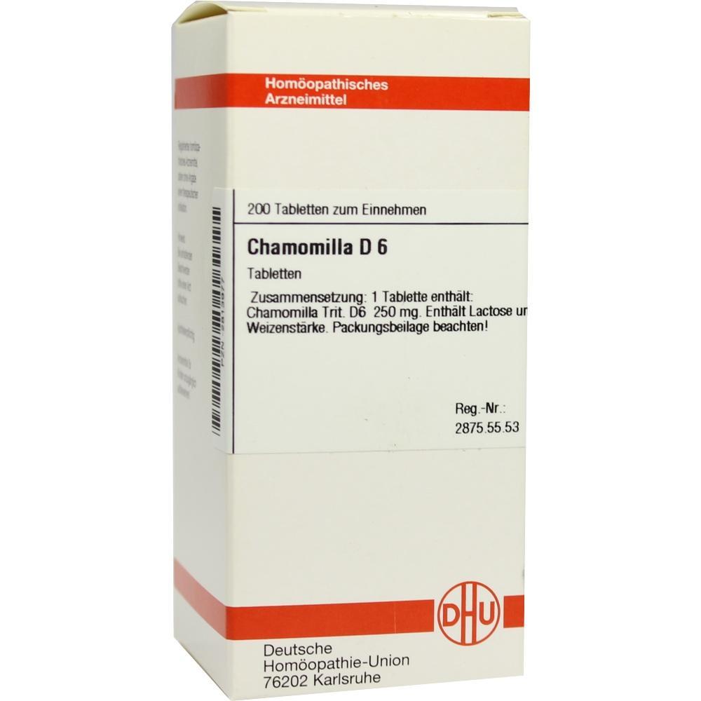 CHAMOMILLA D 6 Tabletten
