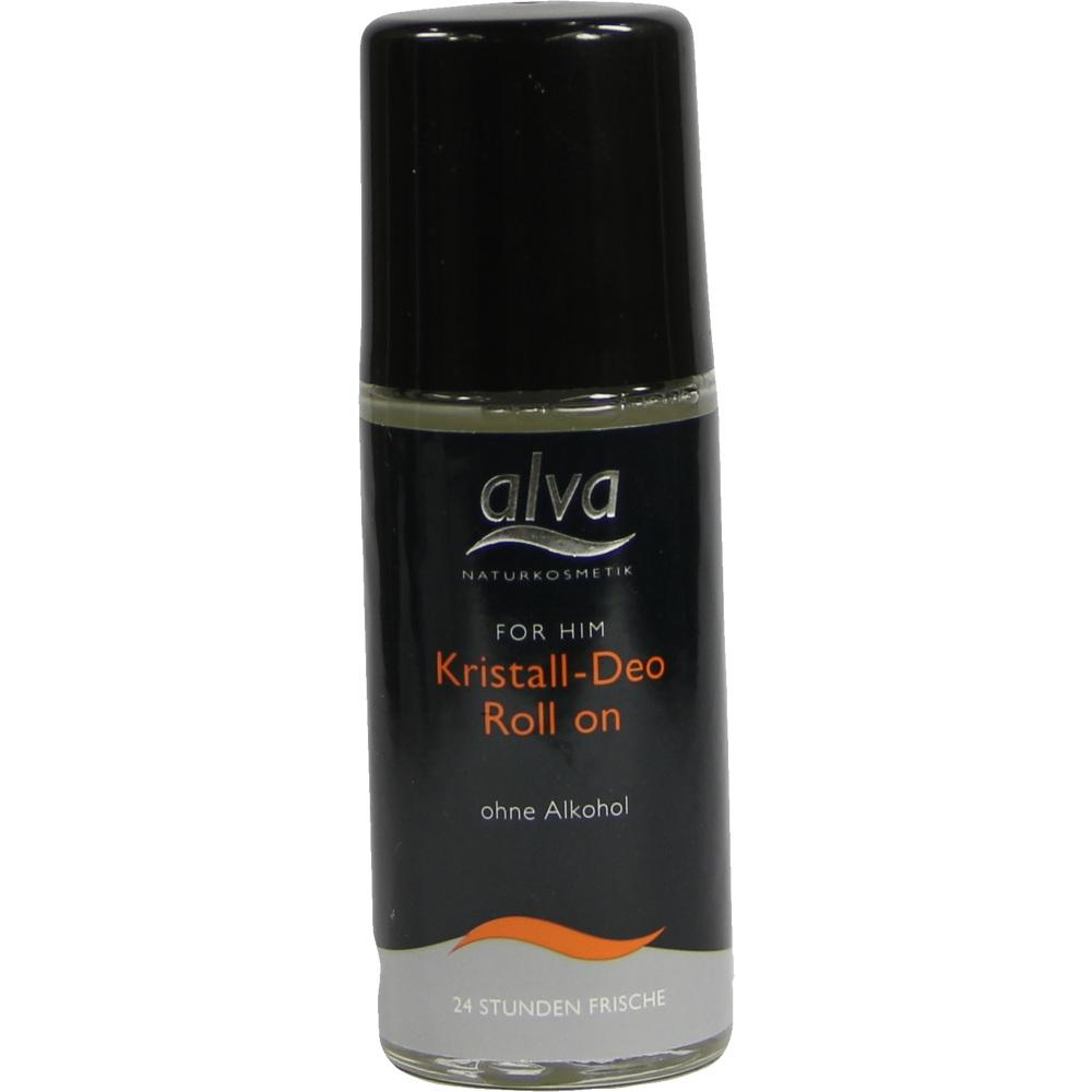 02833804, FOR HIM Roll-On-Deo Kristall Alva, 50 ML