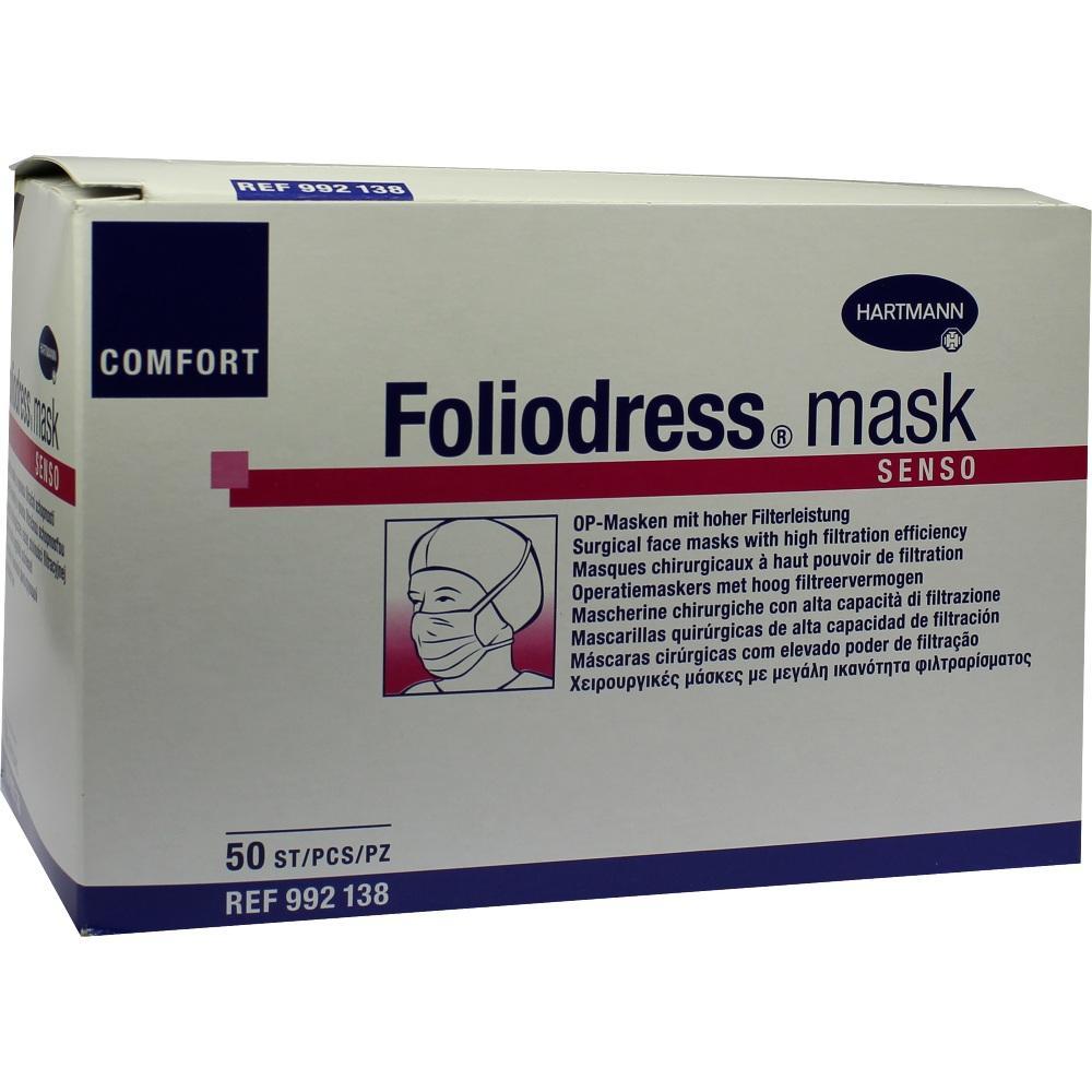 FOLIODRESS mask Comfort senso grün OP-Masken