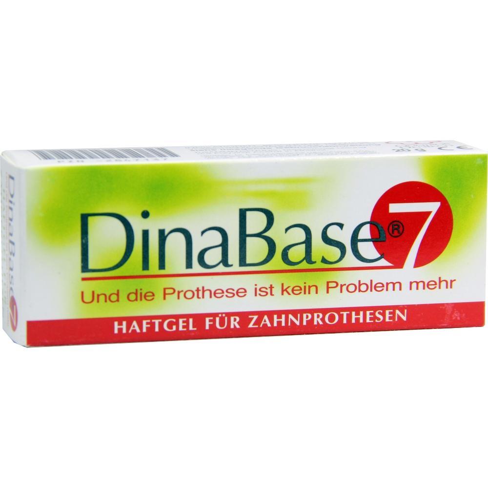02847137, DinaBase 7(unterfüttern.Haftmaterial f.Zahnproth.), 1 ST