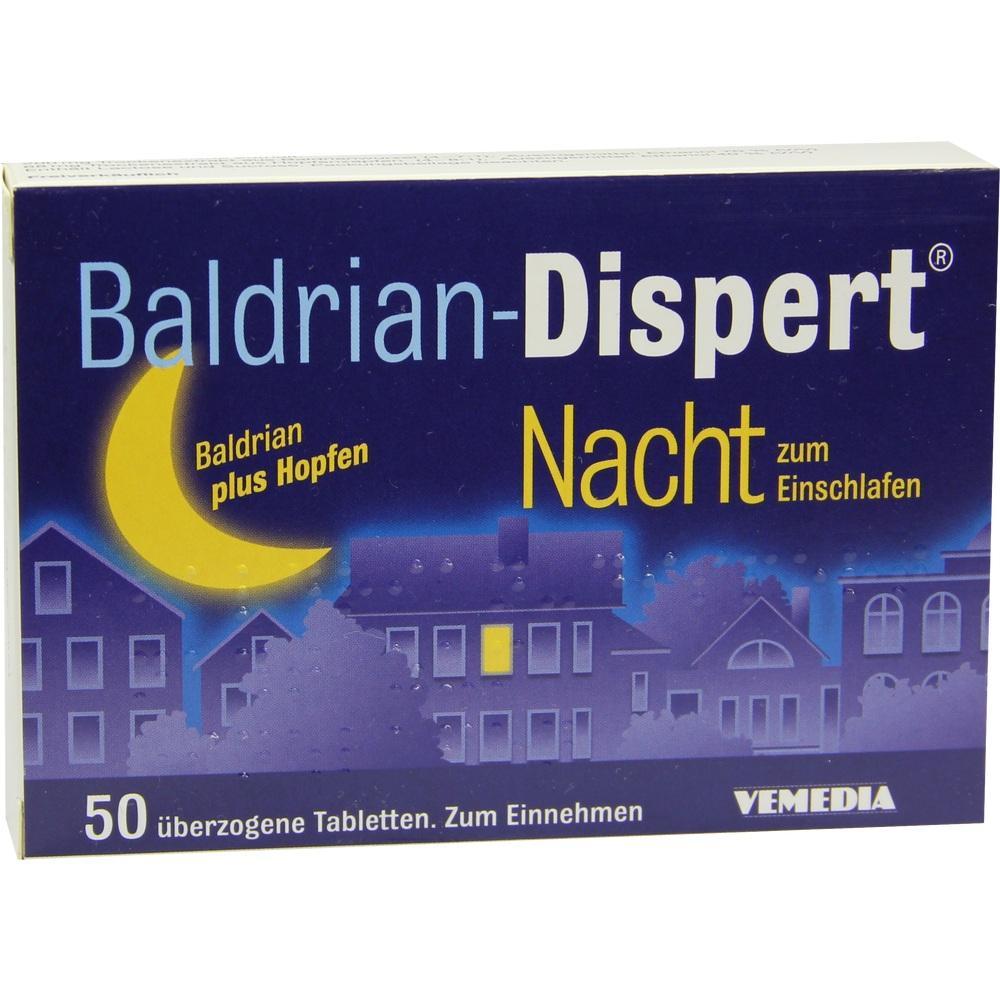 02859873, BALDRIAN DISPERT NACHT zum Einschlafen, 50 ST