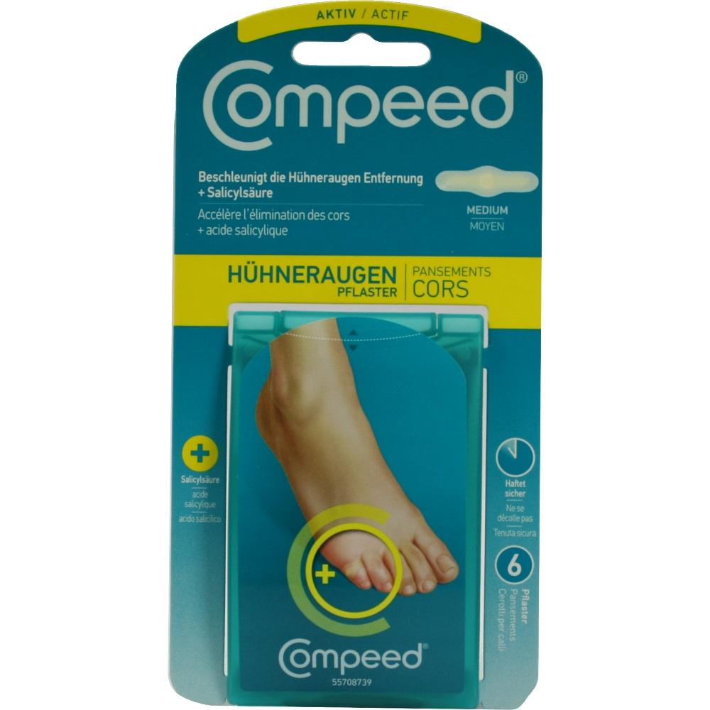 02886344, Compeed Hühneraugen Plus, 6 ST