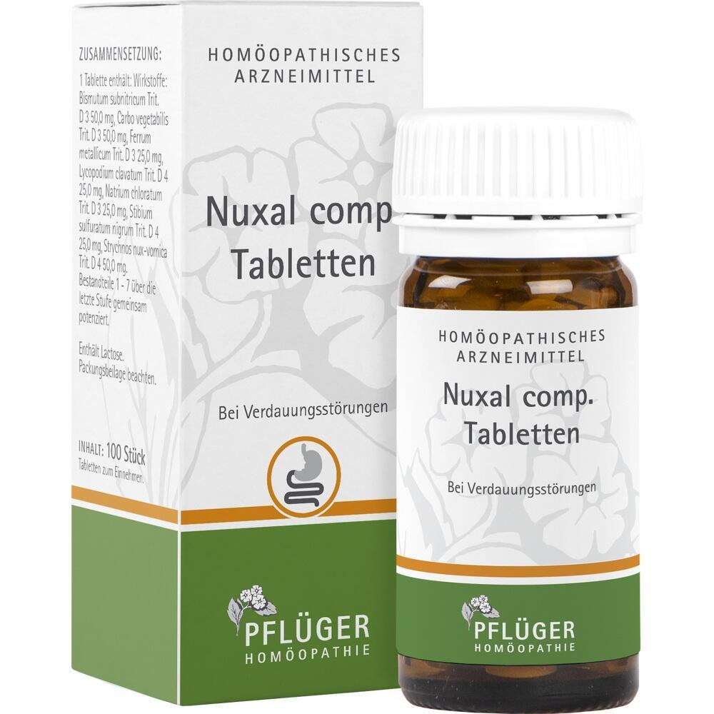 02888254, Nuxal comp. Tabletten, 100 ST