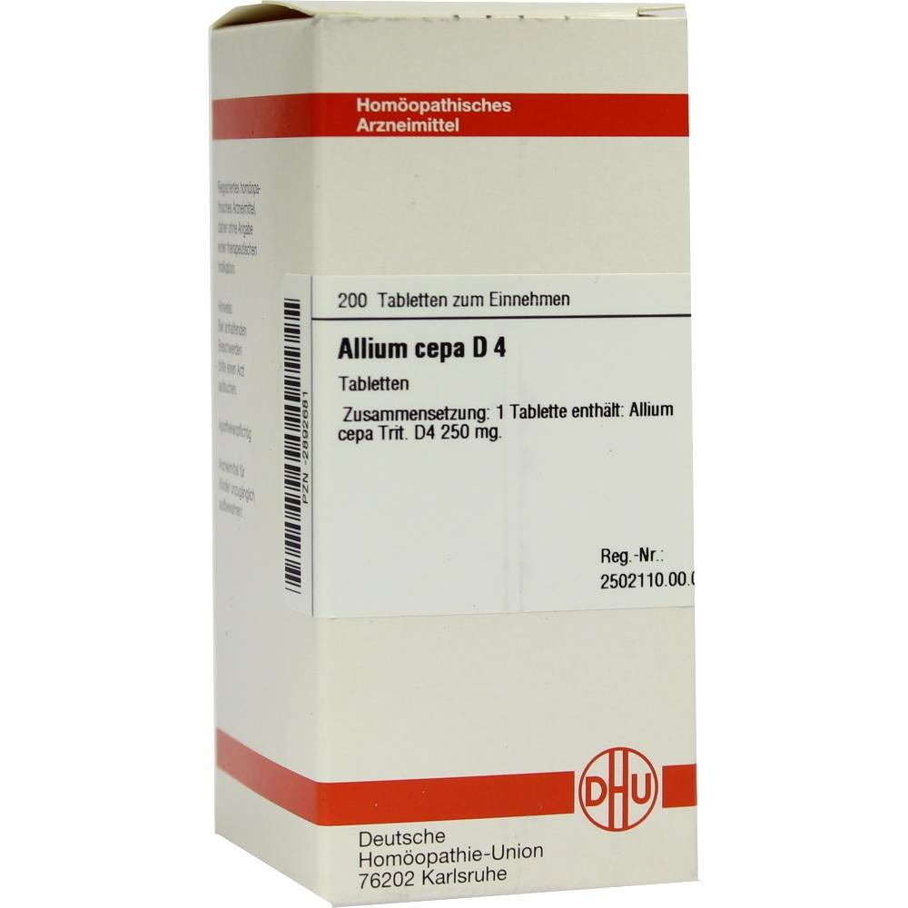 ALLIUM CEPA D 4 Tabletten