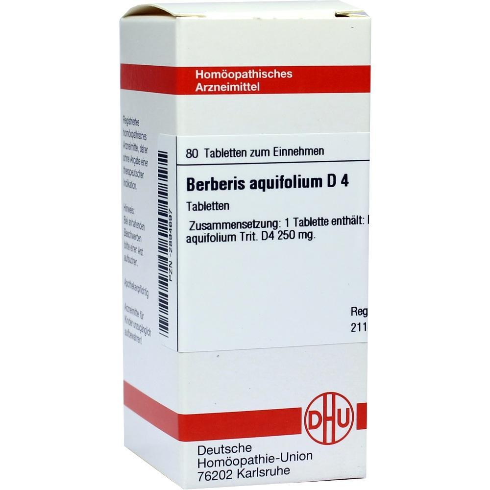BERBERIS AQUIFOLIUM D 4 Tabletten