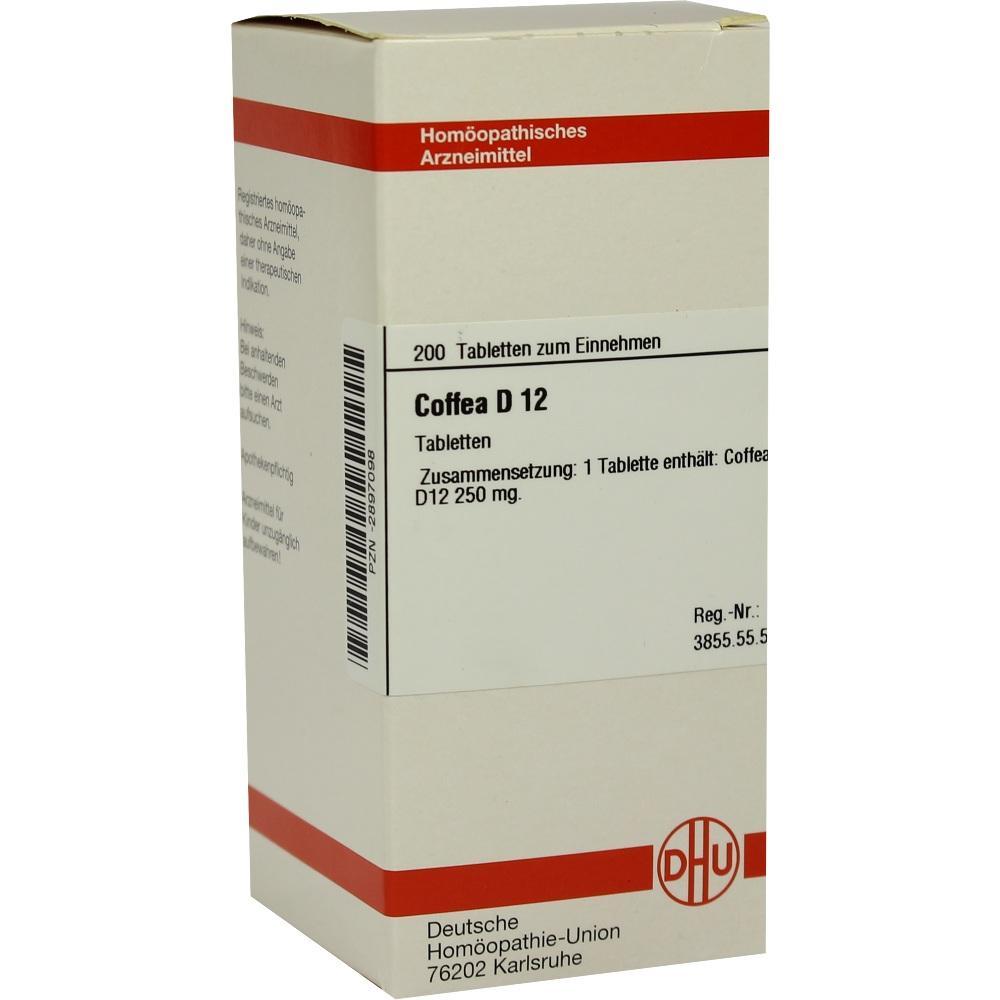 COFFEA D 12 Tabletten