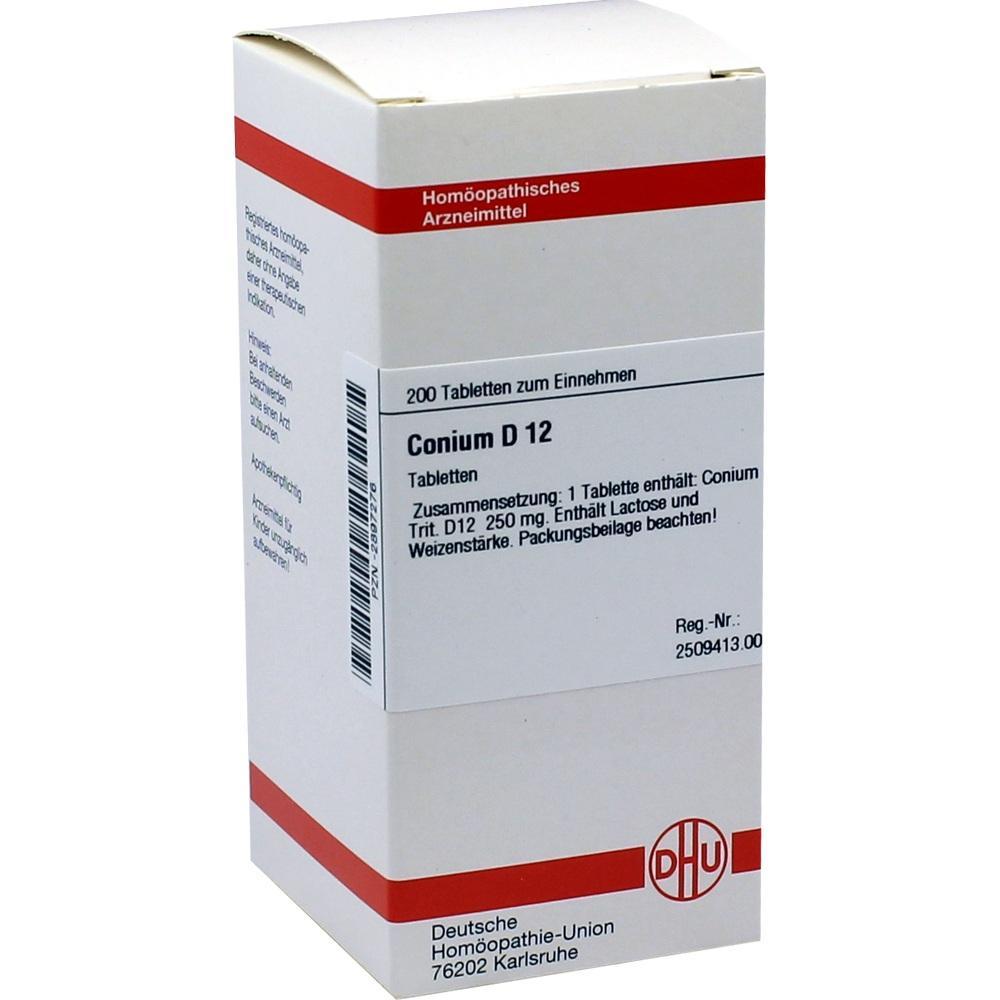 CONIUM D 12 Tabletten